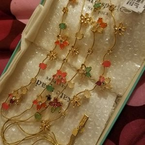 SOLD Kate Spade Giverny Blossom Gardens Necklace